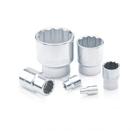 TOPTUL 9mm 1/2($) Dr. 12PT Standard Socket