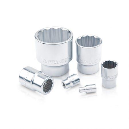 TOPTUL 14mm 1/2($) Dr. 12PT Standard Socket