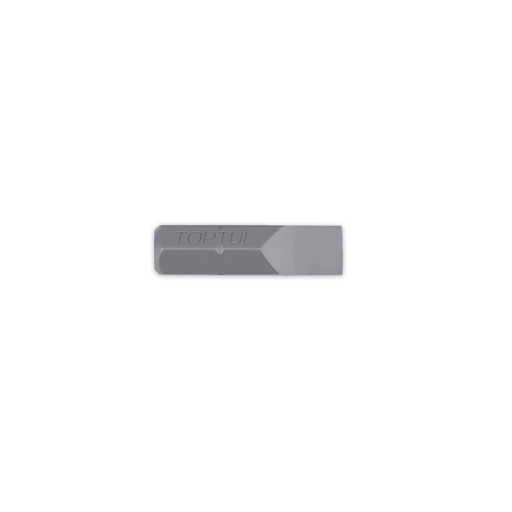 TOPTUL 6.5x1.2 Slot 5/16($) Hex x 30mm Long Bit