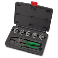 TOPTUL 6 Piece Ratchet Crimping Tool Set