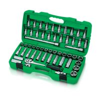TOPTUL 1/2($) Dr. 55 Piece Socket Set
