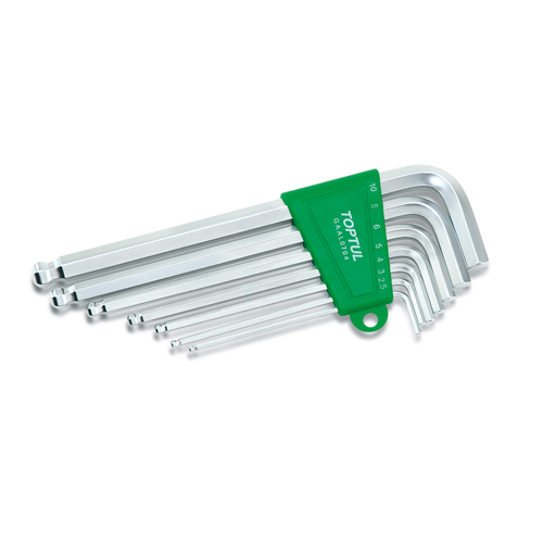 TOPTUL 7 Piece Long Ball End Hex Key Wrench Set($)