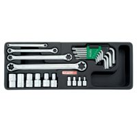 """TOPTUL 23 Piece Star Wrench"