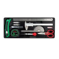 TOPTUL Measuring/Marking & Cutting Tool Set