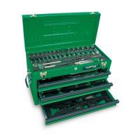 TOPTUL 82 Piece Portable Tool Chest Tool Set