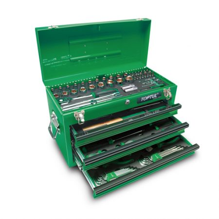 TOPTUL 99 Piece Portable Tool Chest Tool Set