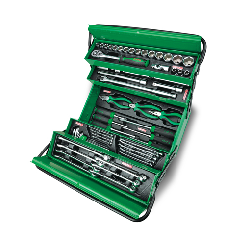 TOPTUL 62 Piece Cantilever Tool Box Set