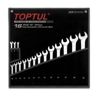 TOPTUL 16 Piece Long Combination Wrench Set