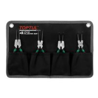 TOPTUL 4 Piece 7($) Circlip Plier Set in Pouch
