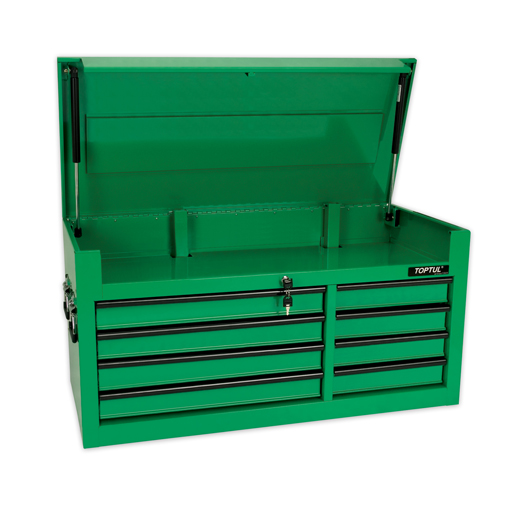 TOPTUL 8 Drawer Heavy Duty Top Chest