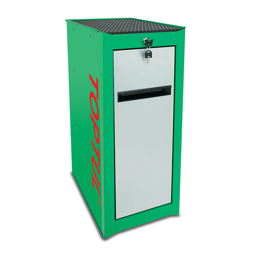 TOPTUL Pro-Line Green/Grey 3 Shelf Side Cabinet