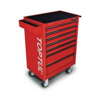 TOPTUL Red 7 Drawer Mobile Tool Trolley