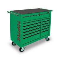 TOPTUL Green 13 Drawer Heay Duty Mobile Work Station