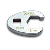 TOPTUL 18mm 3/8($) Dr. Crows Foot Wrench