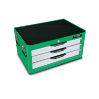 TOPTUL 104 Piece 3 Drawer Top Chest Tool Set