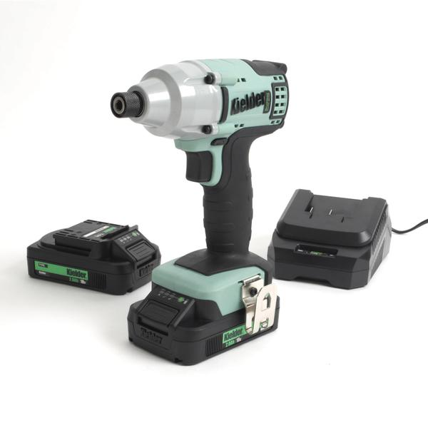 Impact Driver Kit 2ah batteries